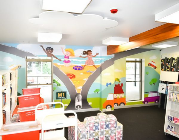 icatchers installs wall graphics for two QLD libraries