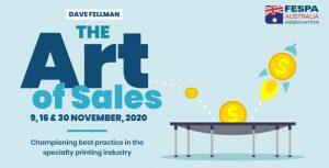 Print Sales Training – FESPA Online Event – Register Now - 3 part event 9, 16 & 30 November @ Online Event