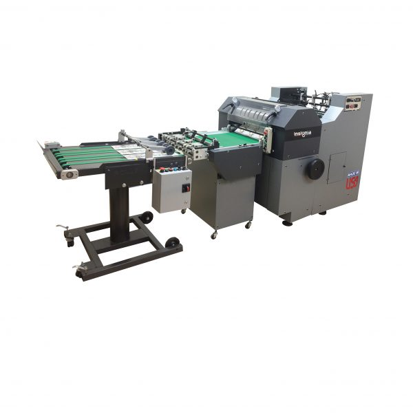 Insignia series rotary die cutter with inline stripping